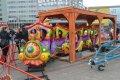 Lieldienu izklaides Daugavpils Vienības laukumā