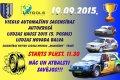 19. septembrī – vieglo automašīnu sacensības autokrosā Ludzas kauss 2015