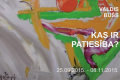 "25.septembris - ""Tabula Rasa"" Marka Rotko mākslas centrā"