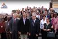 Daugavpili apmeklēja 35 vēstnieki (video)