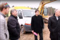 Liginišķu mikrorajonā stihiskās izgāztuves vietā augs koki (video)