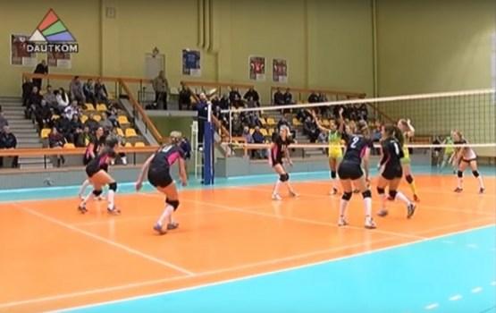 Daugavpils volejbolistes izcīna vienu punktu