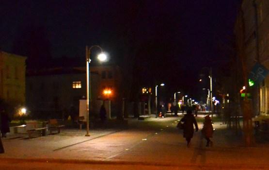 Mainīts pilsētas ielu apgaismojuma grafiks