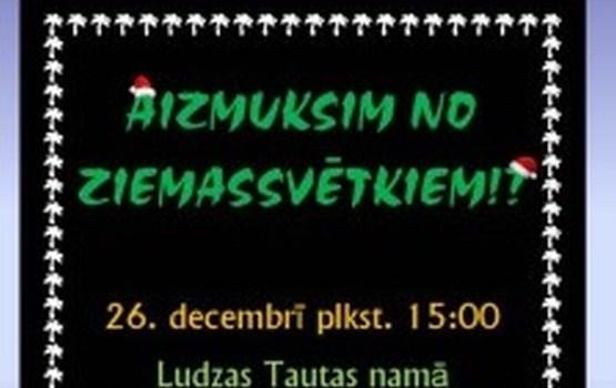 26. decembrī Ludzā – Ziemassvētku izrāde