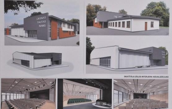Noslēdzies metu konkurss Līksnas pagasta pārvaldes ēkas pārbūvei