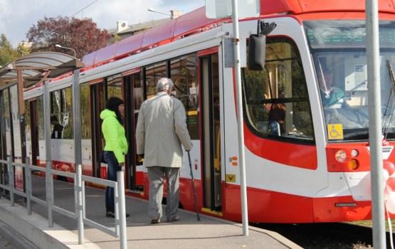 Daugavpilī ar tramvajiem pārvadāto pasažieru skaits pieaug par 3%