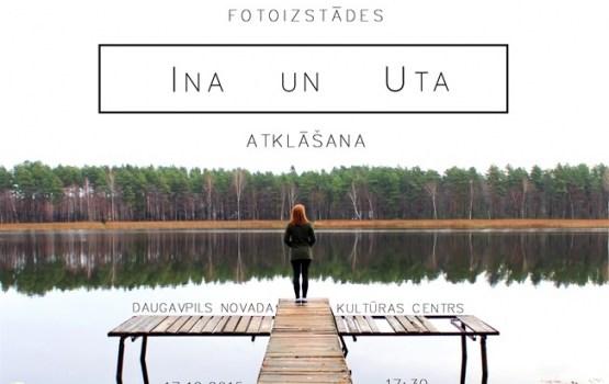 """Novada Kultūras centrā tiks atklāta fotoizstāde """"INA un UTA"""""""
