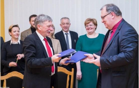 DU un LU parakstījušas Partnerības līgumu