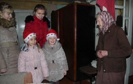 Tika iepriecināti Maļinovas pagasta vientuļie pensionāri