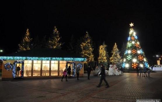 Otro Ziemassvētku svinēšana Daugavpilī