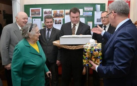 Jānis Lāčplēsis tikās ar Daugavpils pensionāru apvienības pārstāvjiem