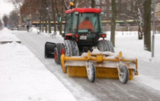 Pilsētas uzkopšana ziemas laika apstākļos