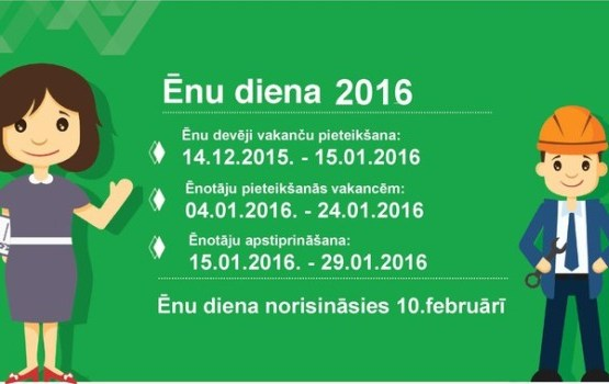 Sākusies pieteikšanās Ēnu dienai 2016