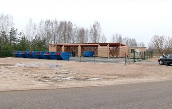 Liģinišķu mikrorajonā sācis darbību šķiroto atkritumu savākšanas laukums