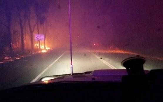 Austrālijā krūmāju ugunsgrēkā nodegusi visa Jarlūpas pilsētiņa