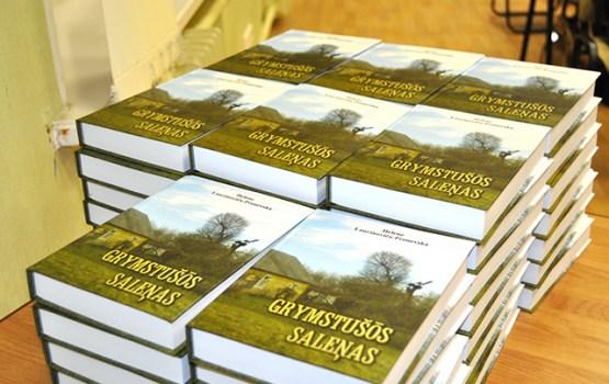 Daugavpilī notika grāmatas «Grymstušōs saleņas» prezentācija