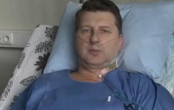 Prezidents Vējonis no slimnīcas gultas uzrunā Latviju