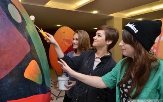 Daugavpils skolas aicinātas kopīgi veidot apgleznotu Lieldienu olu galeriju
