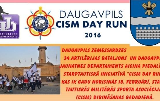 DAUGAVPILS CISM DAY RUN 2016