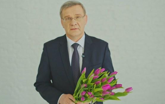 Jāņa Lāčplēša apsveikums 8. martā