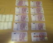 Terehovā apturēts mēģinājums ievest nedeklarētu naudu – 580 200 eiro