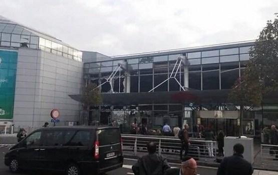 Briseles lidostā notikušas divas eksplozijas; ir bojāgājušie
