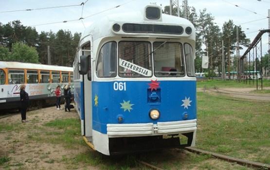 Daugavpilī var doties ekskursijā pa pilsētu ar tramvaju