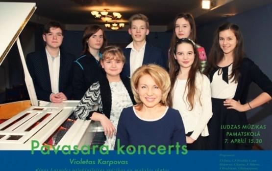 Pavasara koncerts Jūsu priekam!
