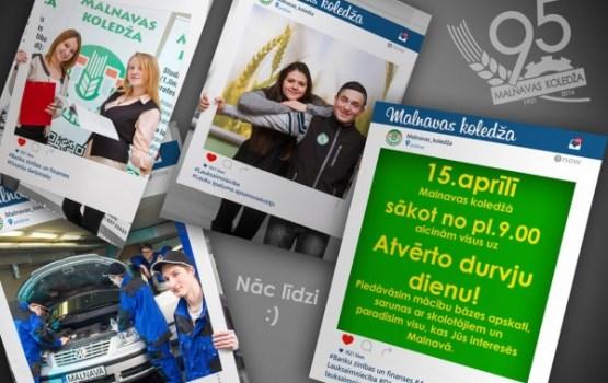 Malnavas koledža aicina uz Atvērto durvju dienu
