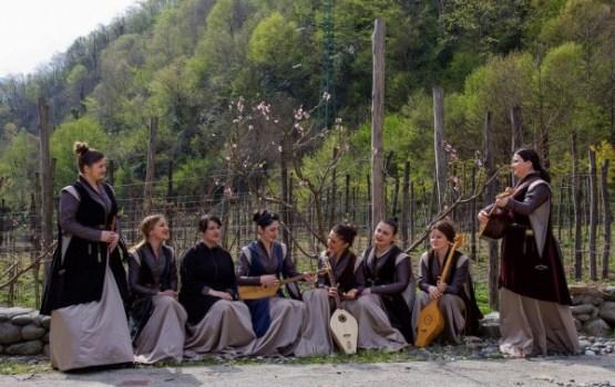 Ludzā dziedās gruzīnu folkloras ansamblis!