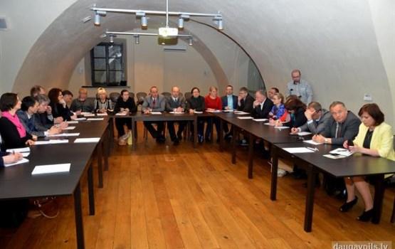 Daugavpili apmeklēja Baltkrievijas ministriju un pašvaldību pārstāvju delegācija