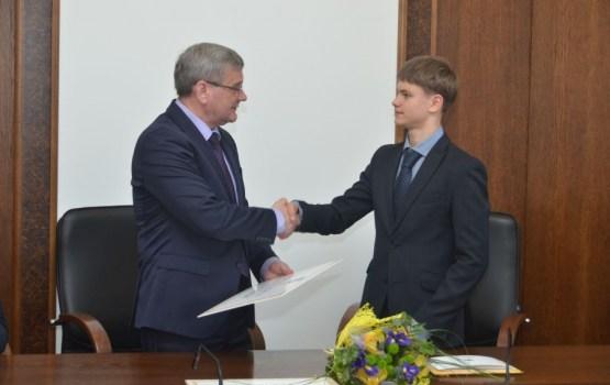 Domē sveica Daugavpils sportistus