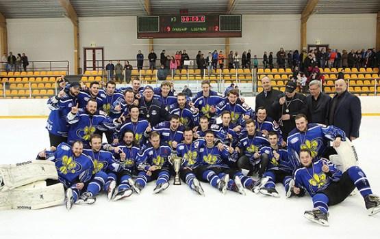 Daugavpils/LDZ Cargo triumfē Latvijas 1. hokeja līgā