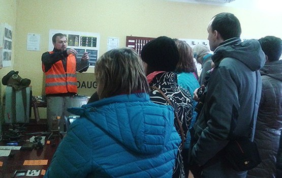 Daugavpili apmeklēja Vidzemes tūrisma nozares speciālisti