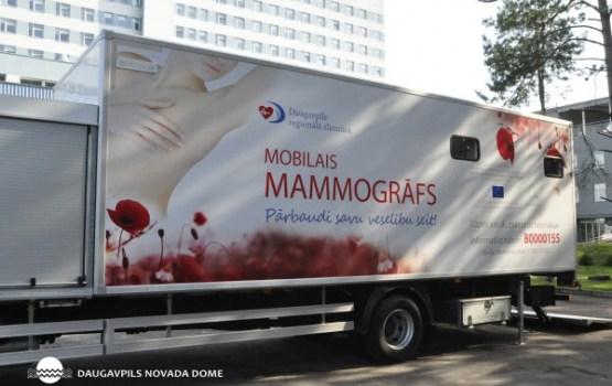 Mobilais mamogrāfs Aglonā 7. maijā