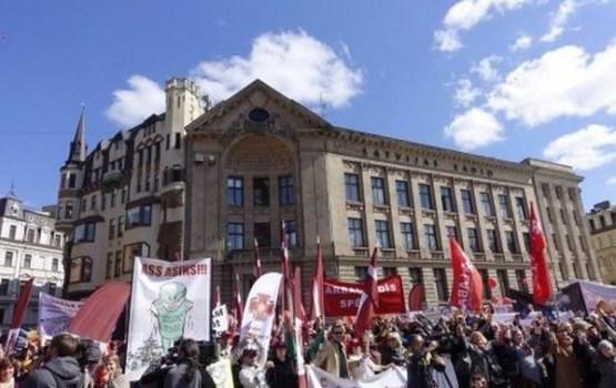 Arodbiedrību pasākumos Rīgā piedalās vairāki tūkstoši cilvēku