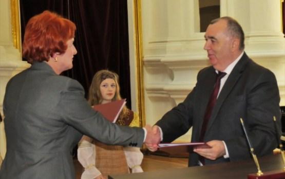 Noslēgts sadarbības līgums ar Polockas rajona izpildkomiteju