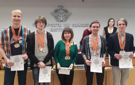 DU studenti izcīnīja bronzas medaļas Latvijas čempionātā intelektuālajās spēlēs