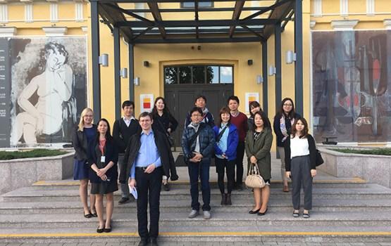 Japānas tūroperatori viesojās Latgalē