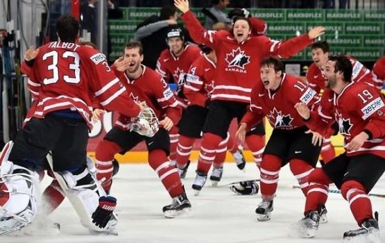 Kanādas hokejisti atkārtoti kļūst par pasaules čempioniem