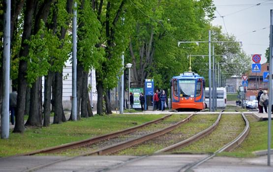 Pilsētas svētku laikā palielinās tramvaju un autbusu reisu skaitu