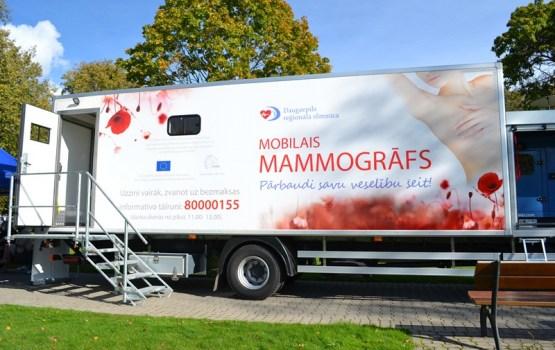 Specializētajos autobusos profilaktisko mamogrāfiju veikušas septiņi tūkstoši sieviešu