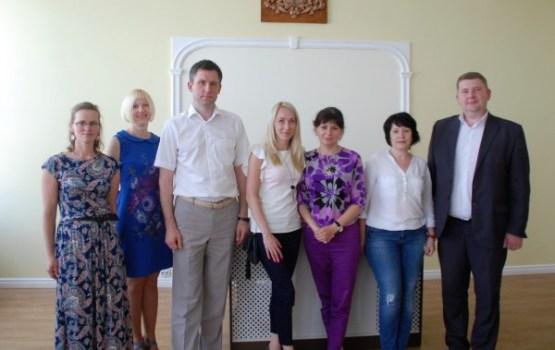 Novopolockas un Zaslavļas delegācija Ludzā