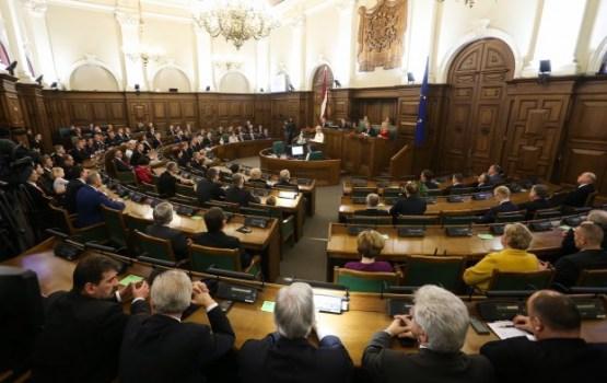 Saeima ratificē līgumu par Latvijas pievienošanos OECD