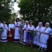 """Baltkrievu """"Kupaļinka"""" uzstājās """"Kupalle"""" svētkos Polockā"""