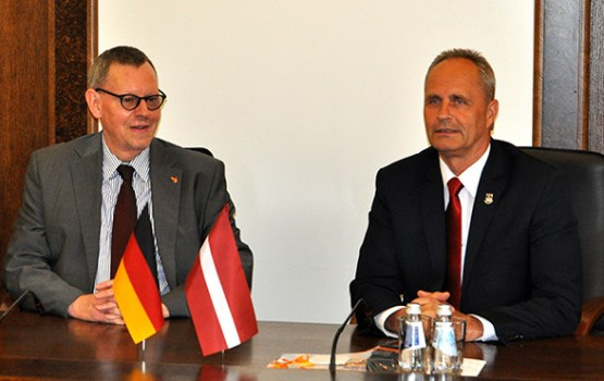 Vācijas vēstnieks uzskata, ka jāpaplašina sadarbība ar Daugavpili