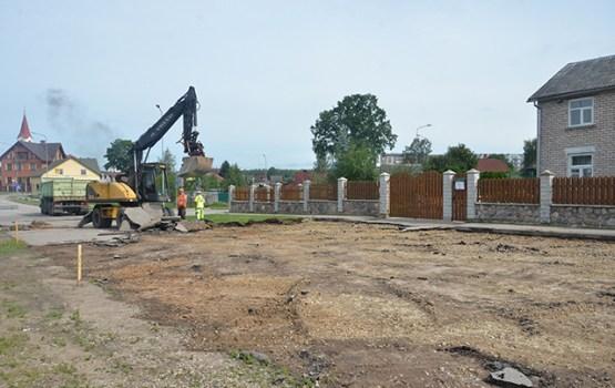 Notiek divu ielu posmu rekonstrukcija Jaunbūvē un Jaunajā Forštatē