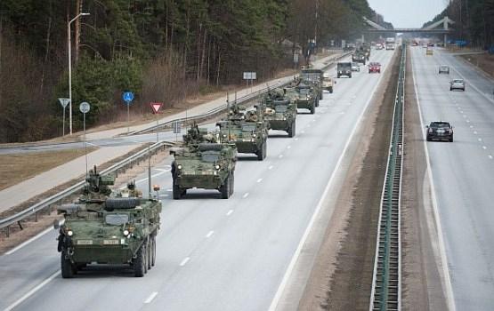 Cauri Latvijai pārvietosies Polijas bruņoto spēku transporta kolonnas