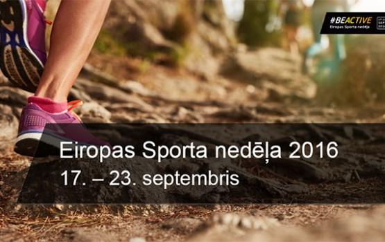 Daugavpilieši var pieteikties dalībai Eiropas Sporta nedēļas aktivitātē