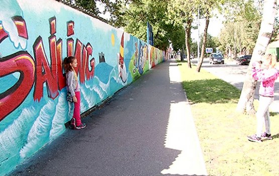 Daugavpilī atklāta vēl viena graffiti galerija